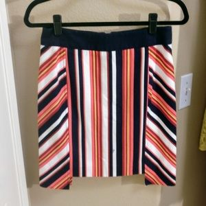 Trina Turk Women's Striped Skirt Size 28 Small
